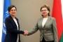 М.Щёткина встретилась с директором Регионального бюро ПРООН по странам Европы и СНГ