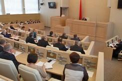 Начала работу вторая сессия Совета Республики Национального собрания Республики Беларусь шестого созыва,  фото   БелТА   (А.Дидевич)