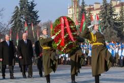 Председатель Совета Республики Мясникович М.В. принял участие в акции «Эстафета памяти»