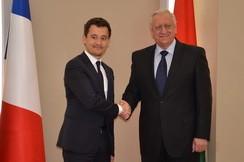 Председатель Совета Республики Мясникович М.В. встретился с председателем группы дружбы «Франция — Беларусь» Национального собрания Французской Республики Ж.Дарманеном