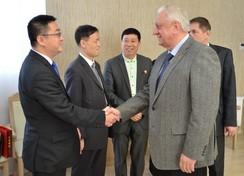 Председатель Совета Республики Мясникович М.В. встретился с делегацией деятелей культуры Китая