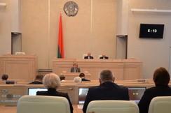 Состоялось заключительное заседание двенадцатой сессии Совета Республики Национального собрания Республики Беларусь пятого созыва