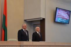 Начала работу девятая сессия Совета Республики Национального собрания Республики Беларусь пятого созыва