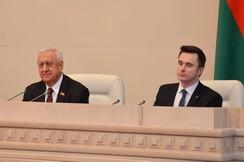 Встреча Председателя Совета Республики Мясниковича М.В. с представителями ОО «БРСМ»