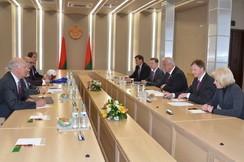 Председатель Совета Республики Мясникович М.В. встретился с делегацией фонда «Духовная дипломатия»