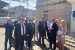 Член Президиума Совета Республики М.Русый  принял участие в выездном рабочем совещании