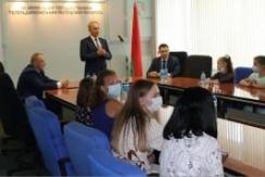 Член Совета Республики В.Чайчиц принял участие в церемонии награждения по итогам конкурса видеороликов