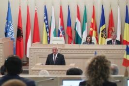 Заседание Парламентской ассамблеи Центрально-Европейской Инициативы в Минске