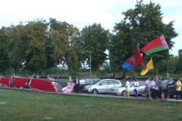 Митинг в Пинске в поддержку Мира, Безопасности и Спокойствия 20 августа 2020 года