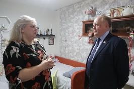 В.Лискович в рамках благотворительной акции «Наши дети» посетил детский дом семейного типа Фрунзенского района г. Минска