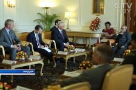 Официальный визит в Республику Индия парламентской делегации Республики Беларусь