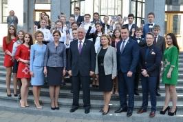 В Совете Республики Национального собрания Республики Беларусь состоялась акция «Мы - граждане Беларуси!»
