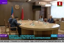 Н. Кочанова встретилась с послом Азербайджана по случаю завершения его дипломатической миссии в Беларуси