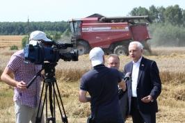 В Могилевской области убрана треть площадей зерновых