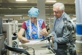 Председатель Совета Республики Мясникович М.В. с рабочей поездкой находится в Брестской области