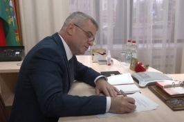 Телерадиокомпания Гомель. «Прямая телефонная линия» с А.Неверовым
