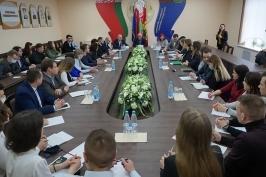 Сенаторы – в регионах: очередная встреча прошла в Могилёвском университете продовольствия
