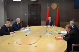 М.Мясникович встретился с врио Генерального секретаря - руководителя Секретариата Совета МПА СНГ С.Антуфьевым