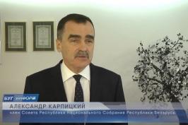 Визит А.Карпицкого на ОДО «ПАНДА»