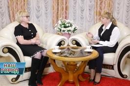 В эфире информационно-аналитической программы «Наш город» член Совета Республики Тамара Шатликова.